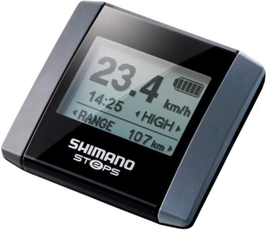 Shimano Steps SC-E6000 Tietonäyttö, black/silver