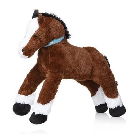 Pitkänomainen hevospehmo - 120 cm - tummanruskea