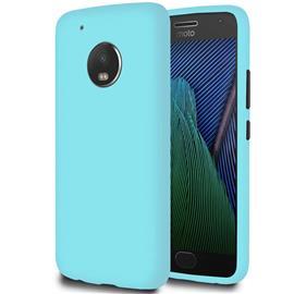 Äärimmäisen ohut kuori Motorola Moto G5 Plus iskunkestävälle mobiilisuojauspehmo