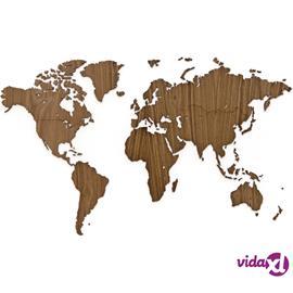 MiMi Innovations Puinen maailmankarttakoriste Exclusive 130x78 cm