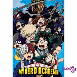 eStore My Hero Academia, Maxi Juliste - Cobalt Blast Group