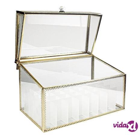 eStore Meikkilaatikko kultayksityiskohdilla