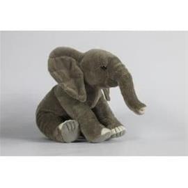 NICOTOY Elephant Floppy pehmo palloilla - 26 cm