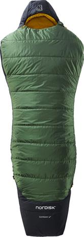 Nordisk Gormsson -2° Curve Sleeping Bag XL, artichoke green/mustard yellow/black
