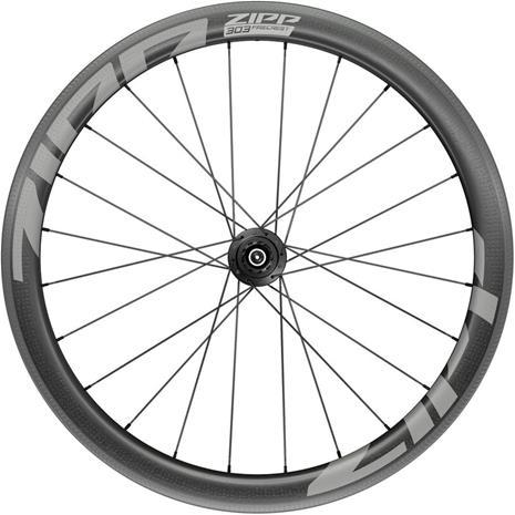 "Zipp 303 Firecrest Rear Wheel 28"""" 130mm Carbon Clincher Tubeless Shimano QR, black"