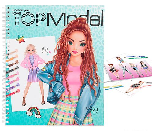 Top Model - Colouring Book (0411065)