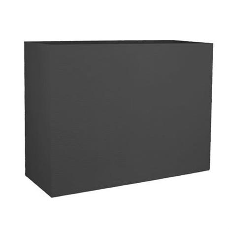 EDA PLASTIQUE Kukkarasia Muret Loft Graphit - 46 L - 78,5 x 29,5 x 60 cm - antrasiitti harmaa