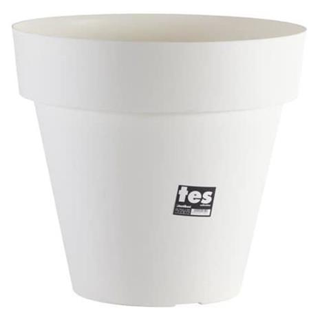 PLASTIKEN Tes kukkaruukku - 48 cm - valkoinen