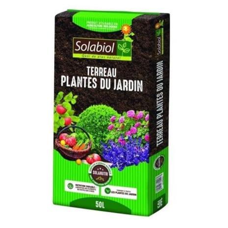 SOLABIOL - Puutarhan maaperäkasvit - Bag 50 L - UAB