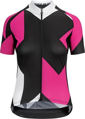 assos Fastlane Rock SS Jersey Women, pong pink
