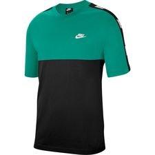 Nike T-paita NSW Hybrid - Vihreä/Musta/Valkoinen
