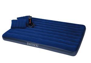 Intex ilmasänky + pumppu + 2 tyynyä
