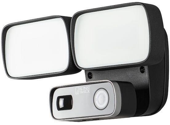 Konstsmide Smartlight 24W musta, kamera, kaiutin, mikr, Wifi