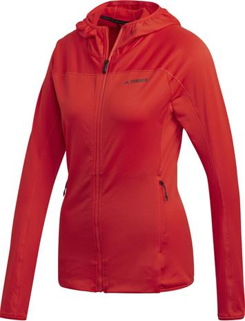 adidas TERREX TraceRo Fl Hooded Sweat Women, hi res red