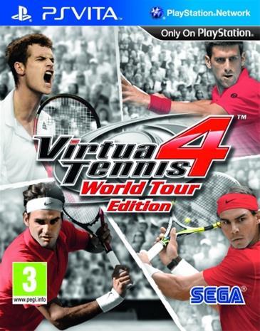 Virtua Tennis 4, PS Vita -peli