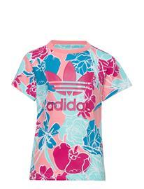 adidas Originals Tee T-shirts Short-sleeved Monivärinen/Kuvioitu Adidas Originals GLOPNK/MULTCO/BOPINK
