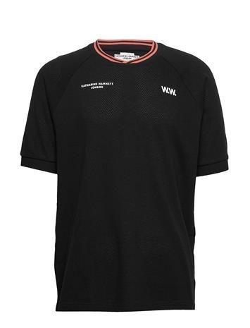 Wood Wood Nick T-Shirt T-shirts Short-sleeved Musta Wood Wood BLACK