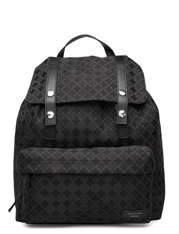 By Malene Birger Packitup Bags Backpacks Fashion Backpacks Musta By Malene Birger BLACK, Miesten laukut