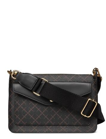 By Malene Birger Wilna Bag Bags Small Shoulder Bags - Crossbody Bags By Malene Birger DARK CHOKOLATE