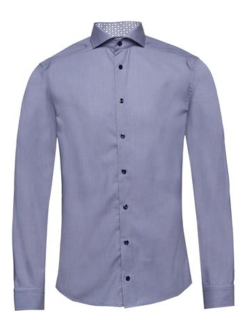 Eton Hairline Striped Shirt – Details Paita Bisnes Sininen Eton BLUE