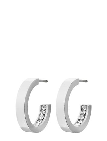 Edblad Monaco Earrings Mini Accessories Jewellery Earrings Hoops Hopea Edblad STEEL