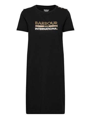 Barbour B.Intl Thunderbolt Drs Lyhyt Mekko Musta Barbour BLACK