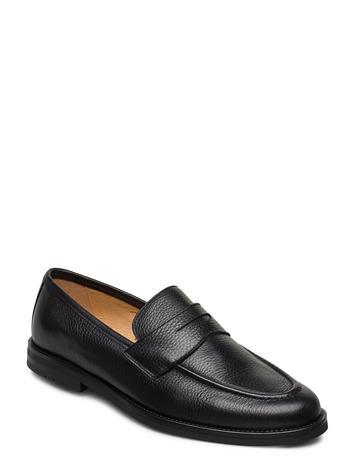 Morris Morris Penny Loafers Loaferit Matalat Kengät Musta Morris BLACK