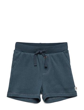 Mä¼sli by Green Cotton Cozy Shorts Baby Shortsit Sininen Mä¼sli By Green Cotton MIDNIGHT