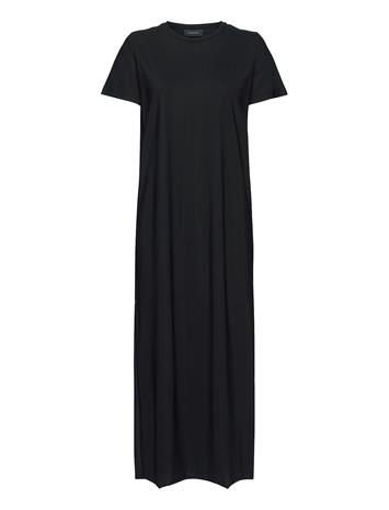 Peak Performance W Sense Tee Dress Maksimekko Juhlamekko Musta Peak Performance BLACK