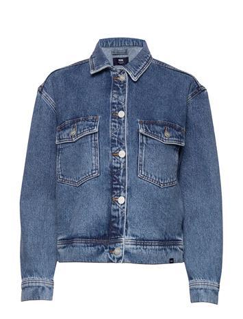 Wood Wood Marie Jacket Farkkutakki Denimtakki Sininen Wood Wood CLASSIC VINTAGE