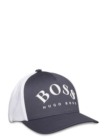BOSS Cap-Mesh Accessories Headwear Caps Sininen BOSS NAVY