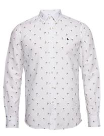 Morris Matthew Button Under Shirt Paita Rento Casual Valkoinen Morris WHITE