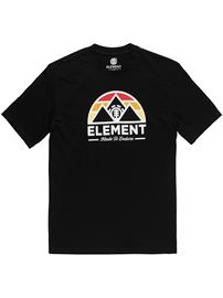 Element Squaw T-Shirt flint black Miehet