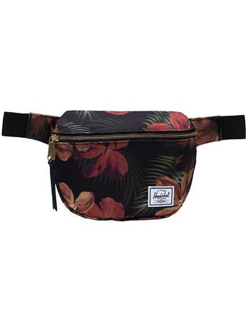Herschel Fifteen Hip Bag tropical hibiscus Naiset