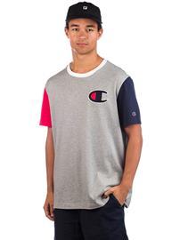 Champion Team Stripes T-Shirt oxgm / byr / nvb / opw Miehet