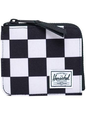 Herschel Jack RFID Wallet checker black / white / black
