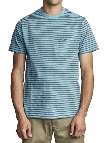 RVCA Runaway T-Shirt bermuda blue Miehet