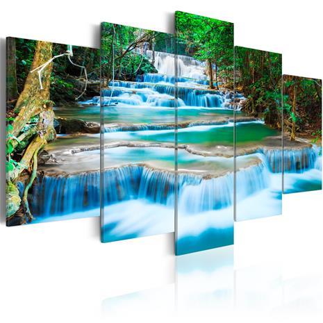 Artgeist Blue Waterfall taulusetti