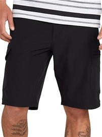 "Volcom Snt Dry Cargo 21"""" Shorts black Miehet"