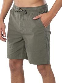 "Rip Curl Swc Riiple 19"""" Elastic Walk Shorts mid green Miehet"