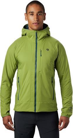 Mountain Hardwear Kor Cirrus Hupullinen Hybriditakki Miehet, just green