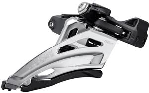 Shimano Deore FD-M4100 Front Derailleur 2x10-speed Clamp Side-Swing