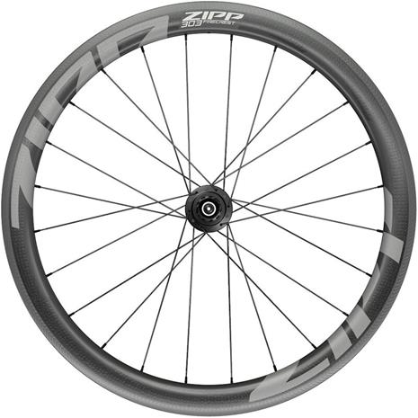 "Zipp 303 Firecrest Rear Wheel 28"""" 130mm Carbon Clincher Tubular Shimano QR, black"