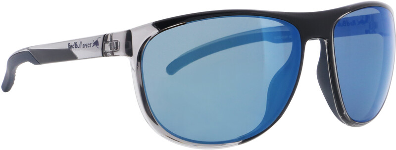 Red Bull SPECT Slide Sunglasses, x'tal grey/smoke with blue mirror polarized