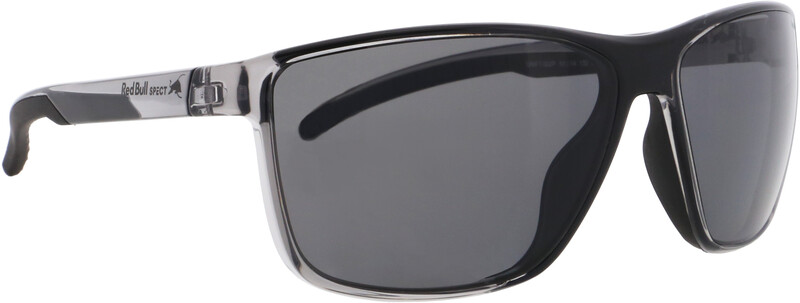 Red Bull SPECT Drift Sunglasses Men, x'tal grey/smoke polarized