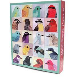 Mudpuppy - Puzzle 1000 pcs - Avian Friends (M33413)