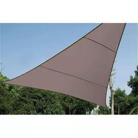 Perel Aurinkopurje kolmio 3 6 m ruskeanharmaa GSS3360TA