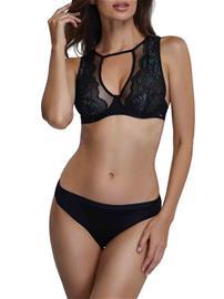 Marc & Andrä© naisten rintaliivit top, musta 70C