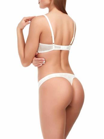 Marc & Andrä© naisten alushousut, valkoinen-beige 38