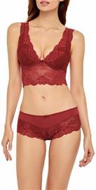 Marc & Andrä© naisten rintaliivit top, punainen 40